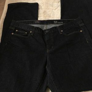 J. Crew Bootcut Jeans in Classic Rinse-Size 33